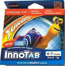VTECH INNOTAB, INNOTAB 2, 2S, 3, 3S, MAX Dreamworks Turbo Game Educational 4-7yr
