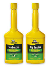 Bardahl Additivo Top Benzina Trattamento Pulisci Iniettori Valvole -2 x 250 ml