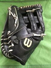 "Wilson 13"" A2449 Elite Leather Softball Glove, Left Hand Throw"