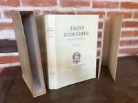 Tre Commedia D'Alfred Di Musset Robert Cami I Bibliolatres Di Francia 1953