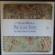 "Pine Island Batiks by Holly Taylor for Moda Fabrics 5"" Charm Package"