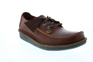 Clarks Trek Veldt 26149916 Mens Brown Oxfords & Lace Ups Plain Toe Shoes