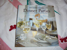 HC GUC Williams-Sonoma Dinner Parties Inspired Recipes and Party Ideas book