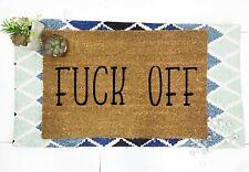 """Fuck-off Outdoor/Indoor Mat fuck-off Door mat Funny Door mat 24""""X16"""" coco coir"""
