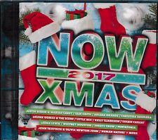 NOW Xmas 2017 CD NEW Selena Gomez Bibier Sam Smith Kelly Clarkson