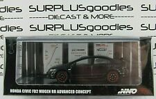 INNO64 1:64 Scale 2019 Black HONDA CIVIC FD2 MUGEN RR Advanced Concept 2009