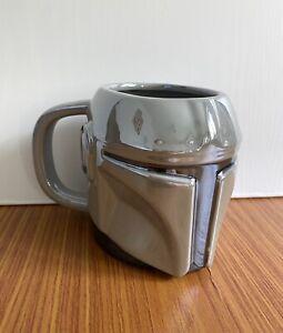 The Mandalorian Shaped XL Mug Officially Licensed Star Wars Tea Coffee Cup 350ml