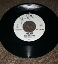 "The Leaves ""Hey Joe/Funny Little World"" Mira #222 PROMO"
