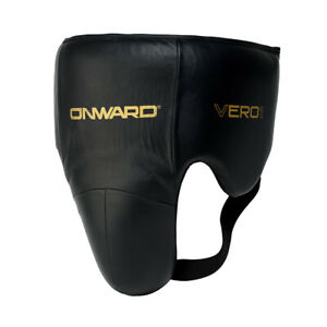 Onward No Foul Guard - Leather Professional Groin Guard - Reinforced Cup