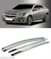 Chrome Window Rain Sun Door Visor 4P 1SET For Chevrolet Malibu 2012 2015