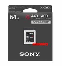 Sony 64GB G Series XQD Memory Card QD-G64 Read: 440MB/s Write: 400MB/s