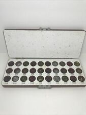 Vintage Zipco Color Coded Pin Lock Zip Pins Tumbler Kit Re Key Locksmith Tools