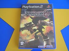 SHADOW THE HEDGEHOG - PLAYSTATION 2 - PS2