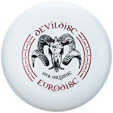 NG - Eurodisc 175g 4.0 Ultimate BIO-Kunststoff Frisbee Devildisc WEISS