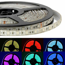 SUPERNIGHT® RGB 10M 60Leds/M 5050 SMD 24V Waterproof Home Deco LED Strip Light