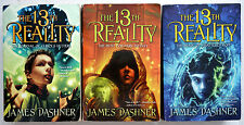 James Dashner 13th Reality Series Lot 3 (1-3) PB: Journal, Hunt, Blade