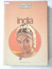 INSIGHT GUIDES INDIA RARE BOOK INDIA