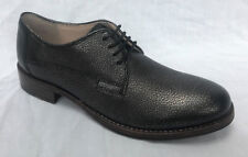 BNIB Clarks Ladies Tomina Luca Silver Metallic Leather Lace Up Shoes