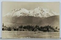 Mt. Shasta, California RPPC Cross & Dimmitt Postcard K3