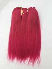 "Pink Synthetic Hair Extensions 100g  Approx 100""-120"" Wide"