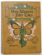 1902 HANS ANDERSEN'S FAIRY TALES w/Jos. Mora illust