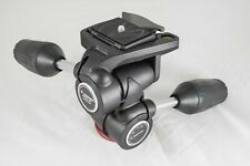 Manfrotto MH804-3W Three-Way Tripod Head & Quick Release Plate. Fast Free Post