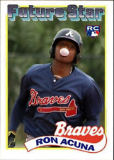 RONALD ACUNA ACEO ART CARD ##FREE COMBINED SHIPPING##