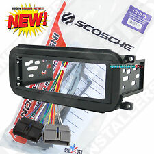 CR1277B Single Din Radio Install Dash Kit & Wires for Dodge, Car Stereo Mount