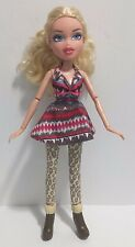 Bratz Doll Chloe Blonde Hair Blue Eyes Ponytail with Shoes EUC 2012