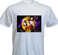 Kobe Bryant BLACK MAMBA Los Angeles Lakers NBA Legend T Shirt (KB-6)