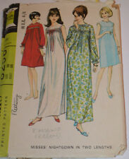 sewing pattern night dress nightgown  two lengths