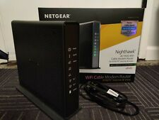 Used Netgear C7100v Xfinity Cable Modem, AC1900 Wireless Router and Voice