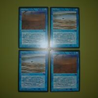 Tidal Flats x4 Fallen Empires 4x Playset Magic the Gathering MTG