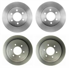 Front Rear Coated Brake Rotors 6-Lug Brembo for Ford F-150 Lincoln Mark LT 4WD