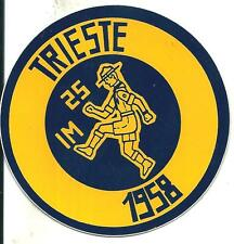 bp 18 Boy scout - GEI - IMPOSSIBILE - TRIESTE - 1958