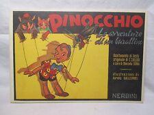 PINOCCHIO Illustrazioni di Galleppini - Nerbini 1994 Anastatica GALEP Collodi