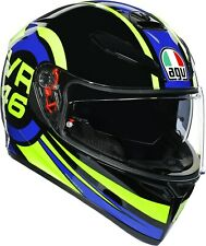 Casque Intégral AGV K3 K-3 SV Top Rossi Ride 46 - Taille S
