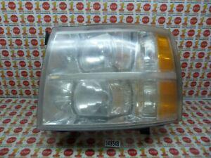2007-2013 CHEVROLET SILVERADO DRIVER/LEFT FRONT HEADLIGHT LAMP 25798850 OEM