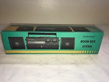 SUNTONE BOOM BOX SYSTEM NEW IN BOX WITH DETACHABLE SPEAKERS
