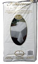 Linette Premium Quality 3-Ply Disposable Plastic Back Tablecloth - 7 Pieces