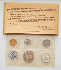 1961 P.C. US Mint Coin Proof Set Sealed With COA and Original Envelope