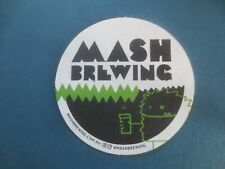 1 only MASH Brewing,Micro Brewery,Western Australia  collectable COASTER