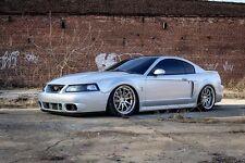 "19"" 19x9.5/11 Aodhan DS02 5x114.3 +15 Vacuum Chrome Rims Fits Mustang 1999-2004"