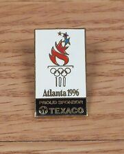 Genuine Atlanta 1996 (556405) Proud Sponsor Texaco Olympics Pin / Pinback *Read*