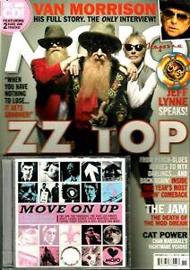 Mojo Music Magazine ZZ Top Van Morrison Jam Cat Power ELO Jeff Lynne CD 2012