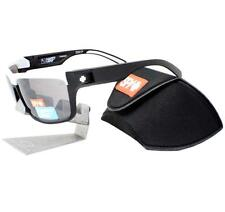 Spy 673040809853 POLARIZED CUTTER with BONUS LENS Matte Black White Sunglasses