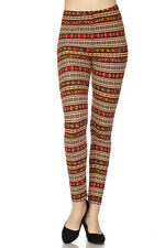 PLUS SIZE Buttery Soft Always Brushed Christmas Leggings TC/P270