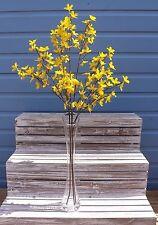 Bunch of 3 Artificial Forsythia Stems ~ Sprays ~ Silk Flowers