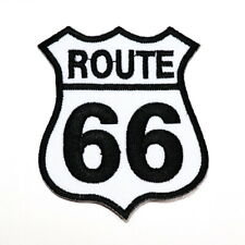 ROUTE 66 Highway Road Harley Motorcycles Car Bike Emblem DIY Clothing Iron Patch