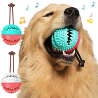New Pet Dog Multifunction Leakage Food Ball Suction Cup Squeaky Molar Chew Toy